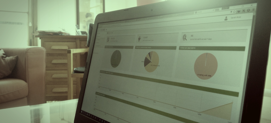 Detect and manage bot traffic with the DataDome dashboard
