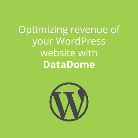datadome for wordpress - optimize revenue