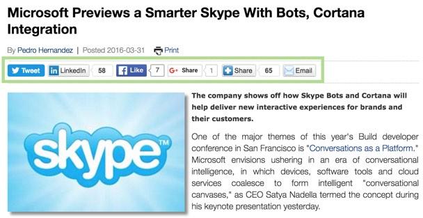 Bot monetization: Social sharing data