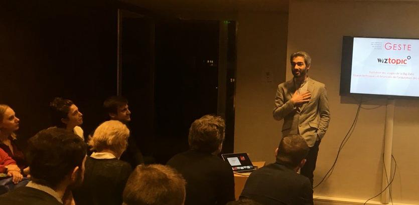Raphael Labbé, fondateur de WizTopic