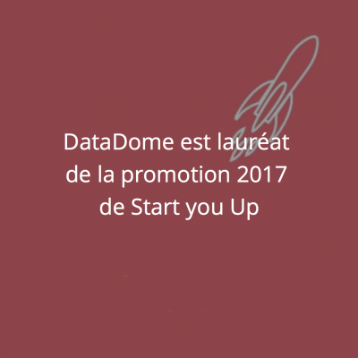 DataDome lauréat de la promotion 2017 de Start you up